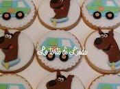Scooby biscotti ricoperti pasta zucchero