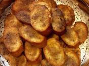 Pane tostato olio extravergine zucchero cannella (ricetta riciclo)