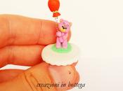 Orsetto palloncino miniatura