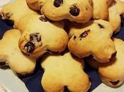 Biscotti all'acqua mirtilli