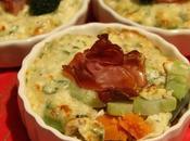 Gratin patate, zucca gambi broccolo