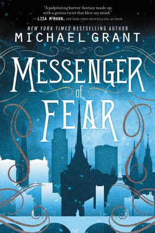 COVER LOVERS #88: Messanger of fear by  Michael Grant