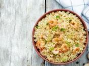 Quinoa gamberetti prezzemolo