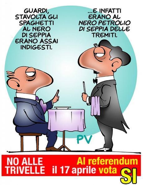Pietro Vanessi PV Un Sì per dire No alle Trivelle, Referendum 17 aprile