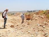 Trovata antichissima necropoli Palestina