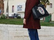 Look Compania Fantastica borsa nera Gorjuss qualche giorno quando sembrava primavera