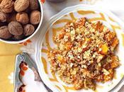 Quinoa porro caramellato, zucca cartoccio noci