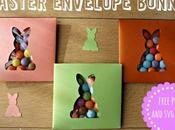 Coniglietto Pasqua Eastery bunny envelope