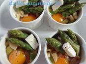 Asparagi uova cocotte