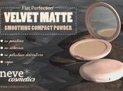 NOVITA'} NEVE COSMETICS: Linea Flat Perfection Nuova cipria Velvet Matte