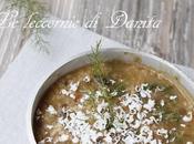 Zuppa mista profumo finocchietto selvatico
