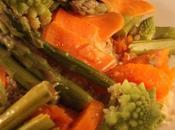 Cous cous vapore zucca, asparagi broccoli