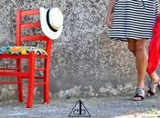Frange colori nelle scarpe Caterina Belluardo