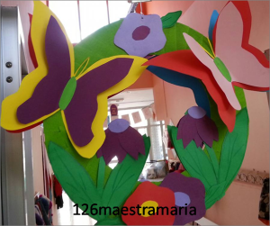 Primavera addobbi per aula paperblog - Decorazioni primaverili per finestre ...