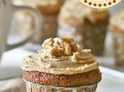 Cupcakes caffè noci Coffee walnut cupcakes