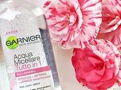 Garnier acqua micellare pelli sensibili beauty routine ogni make-up addicted
