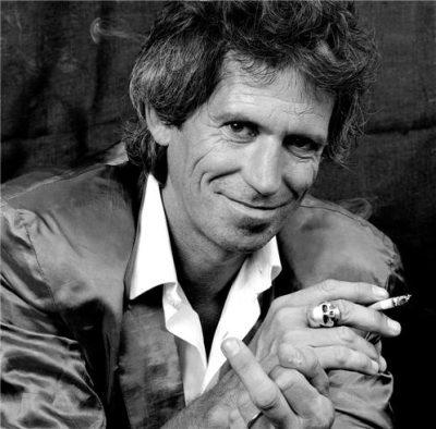 Keith Richards per i terremotati in Giappone