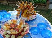 Buffet frutta fresca