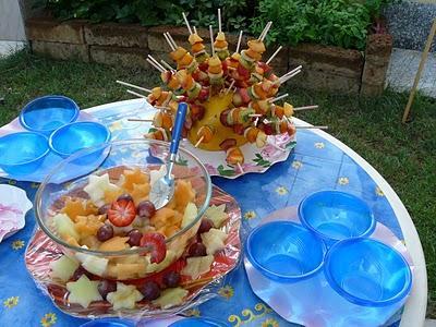 Decorazioni Buffet Frutta : Buffet di frutta fresca paperblog