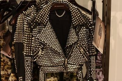 BRITNEY SPEARS / BURBERRY PROSUM / STUDDED JACKET 2011