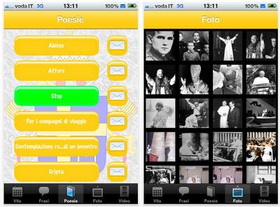 Giovanni Paolo II: l'applicazione più completa presente nell'AppleStore