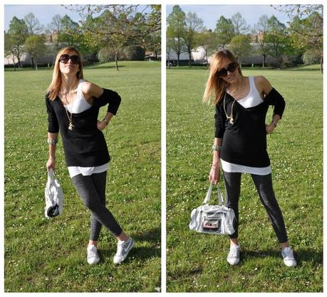 Outfit: sporty girl