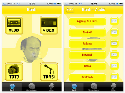 iComici 1: la prima applicazione dedicata ai grandi comici Italiani per iPhone