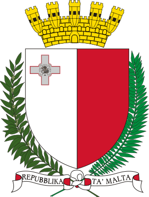Coat of arms of Malta.