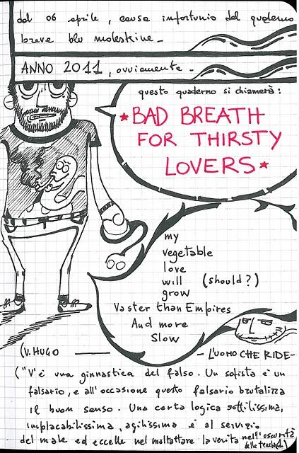 Bad  Breath for Thirsty Lovers