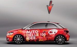L'Auto delle 100 Idee parte da Bologna