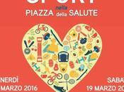 """marzo 2016 """"Sport nella Piazza della Salute"""" Vittorio"""