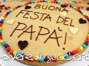 Tutorial mega biscottoni decorati un'idea festa papà