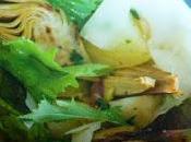 insalata patate carciofi