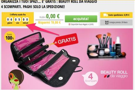 BEAUTY ROLL DA VIAGGIO