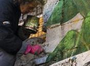 Homeless/Street artist Gazometro. donna povera d'Italia.