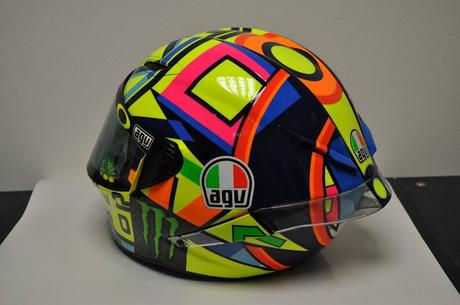 Agv PistaGP Valentino Rossi 2016 by Drudi Performance - painted by DiD Design