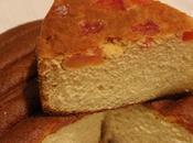 Torta double face soffice alla vaniglia papaia