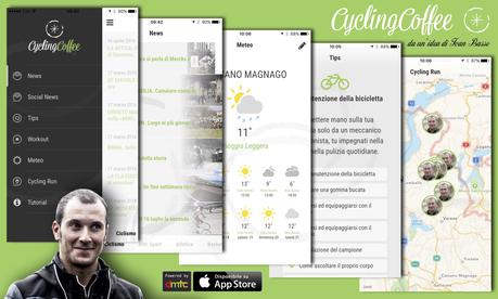 "Ecco Cycling Coffee, la App per ciclisti ""digital addicted"" ideata da Ivan Basso"