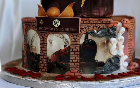Harry potter cake per elisa paperblog for Avvolgere completamente intorno case di log portico