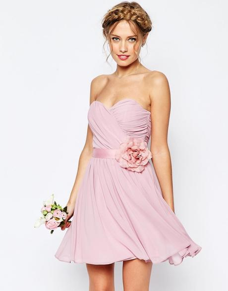 Vestito romantico rosa per matrimonio