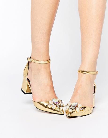 Scarpe eleganti tacco basso Asos