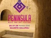 Peninsula Music Festival Gallipoli, One, sabato marzo 2016 Lecce.