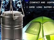 Lanterna ultra luminosa, campeggio richiudibile