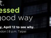 fissa evento prossimo Aprile potrebbe essere presentato