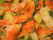Insalata Gamberi salsa Fragole