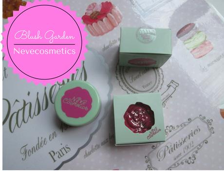 Blush Garden di Nevecosmetics