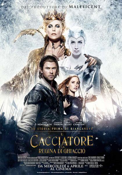 Locandina italiana Il cacciatore e la Regina di Ghiaccio