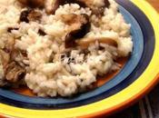 Riso funghi shiitake freschi