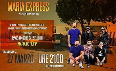 Al via Maria Express, il web reality di Trash Italiano