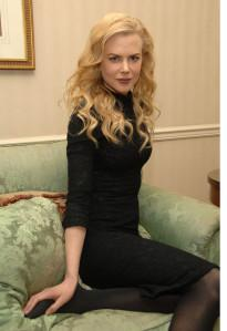 HOLD FOR STORY BY FRANK COYLE. Actress Nicole Kidman poses for pictures at The Waldorf Astoria. Her new movie